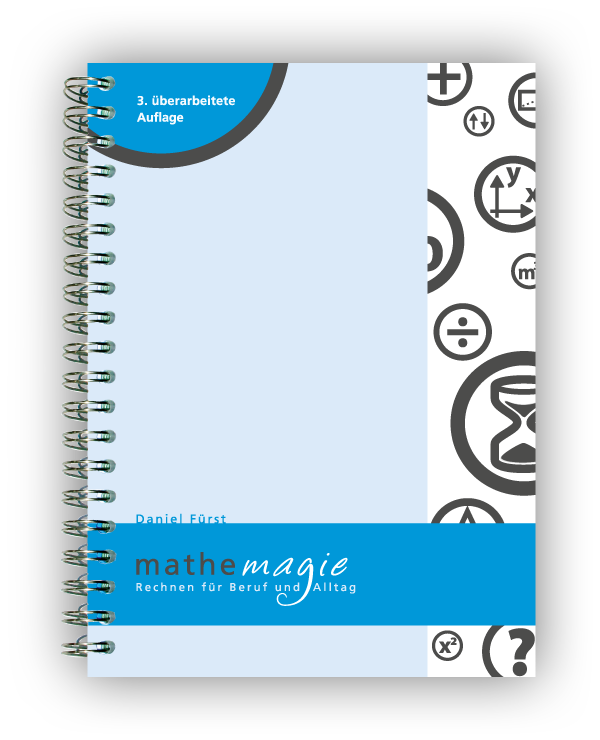 Buchcover MatheMagie, 3. Auflage 2016